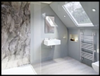 Multi-Panel Wetwall Bathroom & Shower